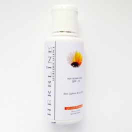 Herbline sun screen lotion SPF15