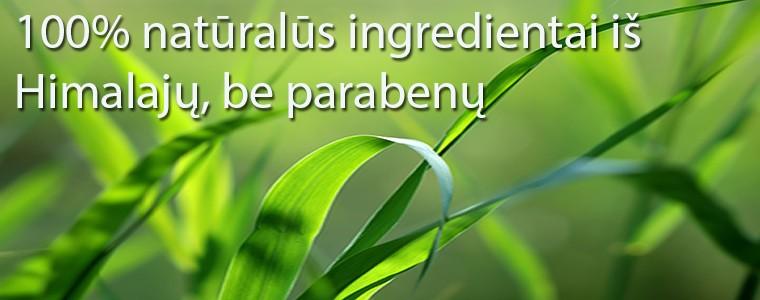 Naturalūs ingredientai